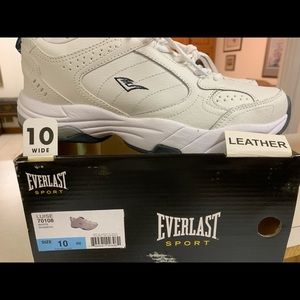 Everlasting sport leather tennis shoe woman 10 new